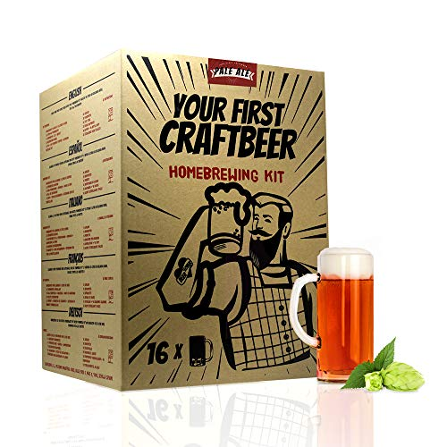 Pack Equipo de iniciación y Kit 'Extracto en jarabe' Your First Craftbeer Pale Ale