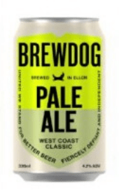 Brewdog Pale Ale West Coast Classic LATA 33cl